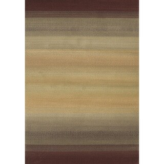 Generations Brown/ Beige Rug (5'3 X 7'6)