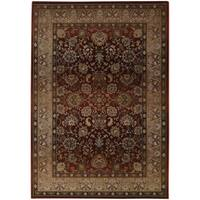 "Generations Red/ Beige Oriental-pattern Rug (9'9 x 12'2) - 9'9"" x 12'2"""