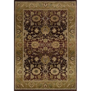 Generations Red/ Gold Rug (2' X 3')