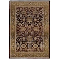 Generations Red/ Gold Rug - 2' X 3'
