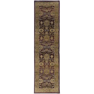 Generations Red/ Gold Rug - 2'3 X 7'6