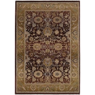 Generations Red/ Gold Rug (7'10 X 11')
