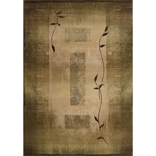 Generations Green/ Beige Rug (9'9 X 12'2)