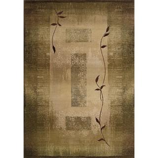 Generations Green/ Beige Rug (9'9 X 12'2)