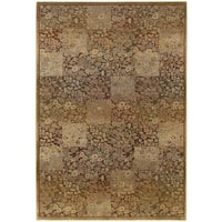 Generations Green/ Gold Rug (2' X 3') - 2' x 3'