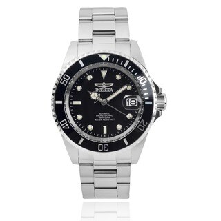 Invicta Men's IN-8926OB Stainless Steel 'Pro Diver' Quartz Watch with Black Dial|https://ak1.ostkcdn.com/images/products/8188684/P15524602.jpg?_ostk_perf_=percv&impolicy=medium