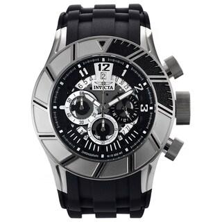 Invicta Men's 14029 Stainless Steel 'Pro Diver' Quartz Watch with Black Rubber Strap
