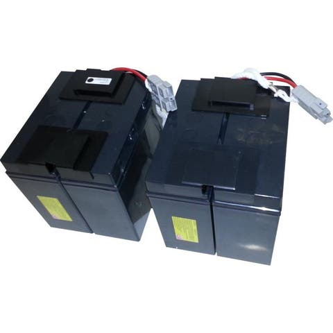 eReplacements Compatible Sealed Lead Acid Battery Replaces APC SLA11, APC RBC11 for use in APC Smart-UPS APC SU1400RMXLNET, APC