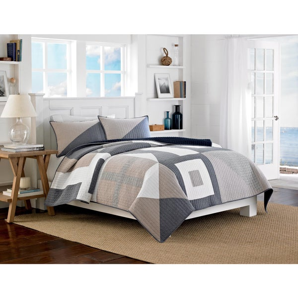 Nautica Seaview Cotton Reversible Quilt