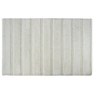 Sherry Kline Cotton Stripe 21 x 32 Bath Rug - 1'9 x 2'8