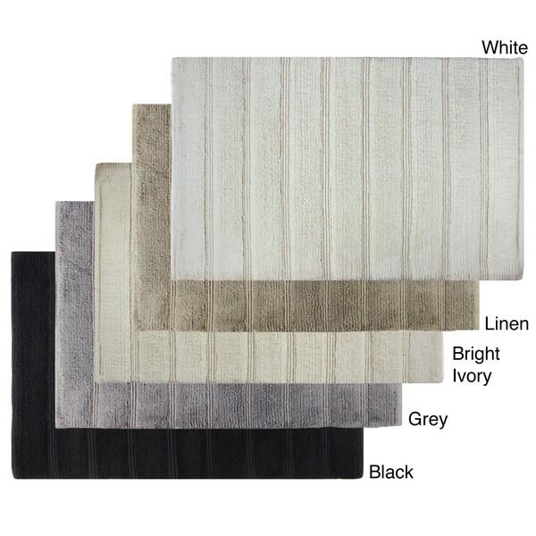 Sherry Kline Cotton Stripe 21 x 32 Bath Rug - 1'9 x 2'8