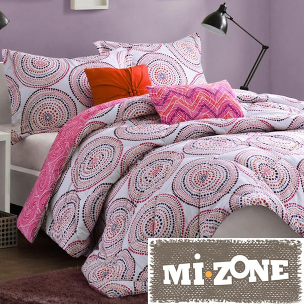Mi Zone Cali Softspun 5-piece Comforter Set