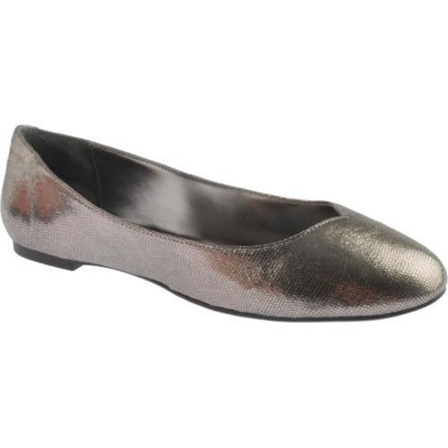 Women's Nine West Razzie Dark Silver Leather