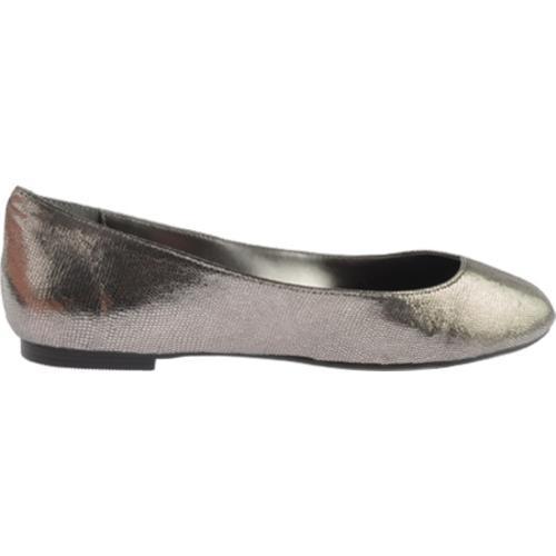 Women's Nine West Razzie Dark Silver Leather - Thumbnail 1