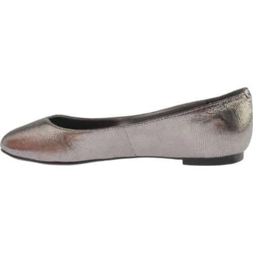 Women's Nine West Razzie Dark Silver Leather - Thumbnail 2
