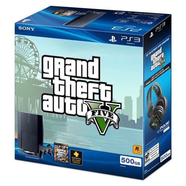 PS3 500 GB Grand Theft Auto V Bundle