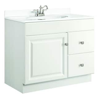 Design House Wyndham White Semi-gloss Vanity Cabinet|https://ak1.ostkcdn.com/images/products/8190424/P15526305.jpg?impolicy=medium