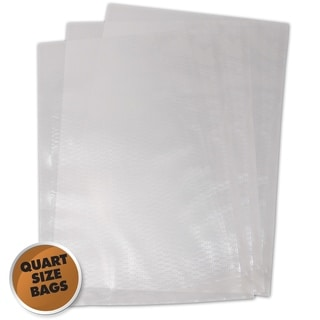 Vacuum Sealer Bags Realtree Quart 8-inchx12 inch (100 count)