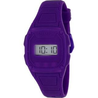 Freestyle Women's 'Shark' Purple Silicone Digital Watch