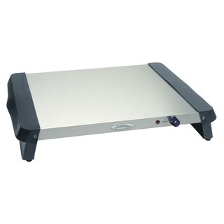 Broil King Stainless Steel/ Black Professional Warming Tray