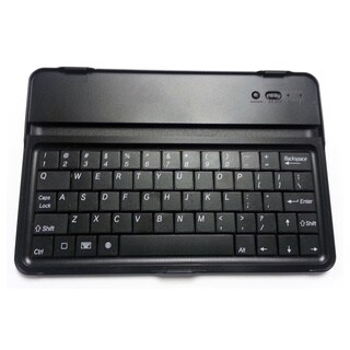 Bluetooth Aluminum Mini iPad Keyboard Case