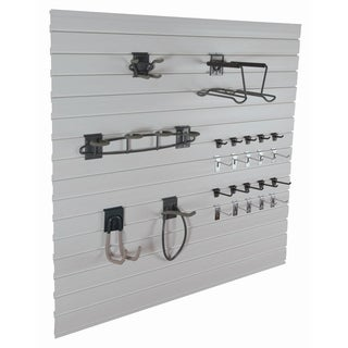 GlideRite Slatwall Garage Organization Sports Kit