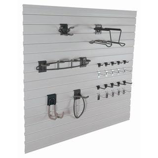GlideRite Slatwall Garage Organization Sports Kit