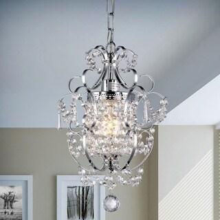 singlelight crystal chandelier