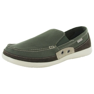 Shop Men 39 S Crocs Walu Accent Army Green Stucco On Sale Free Shipping On Orders Over 45