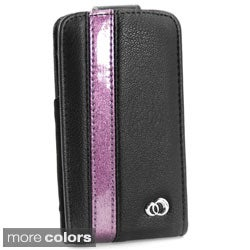 Kroo SOHO iPhone 4/4S Leather Flip Case