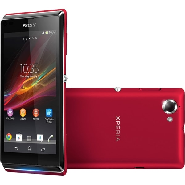 Sony Mobile Xperia L C2104 Smartphone - 8 GB Built-in Memory - Wirele