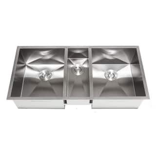 Triple Bowl Kitchen Sinks For Less | Overstock.com