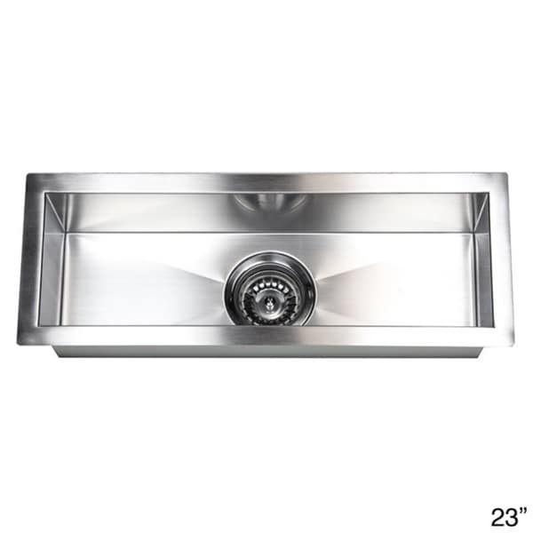 Incroyable Stainless Steel Undermount Kitchen Prep Bar Sink