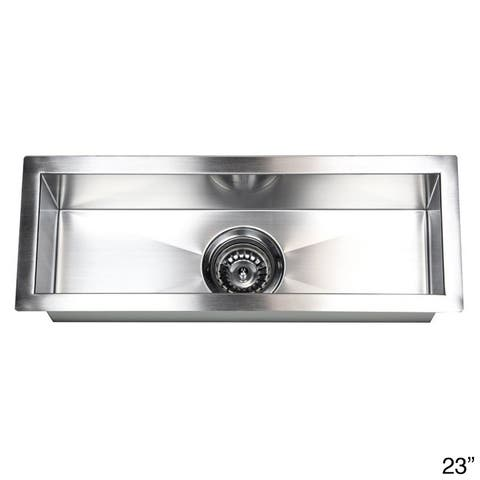 Stainless Steel Undermount Kitchen Prep Bar Sink