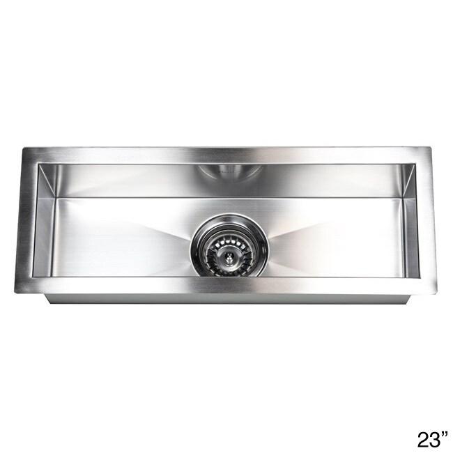 Merveilleux Stainless Steel Undermount Kitchen Prep Bar Sink