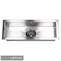 Stainless Steel Undermount Kitchen Prep Bar Sink Free Shipping Today 8198228