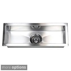 Awesome Stainless Steel Undermount Kitchen Prep Bar Sink