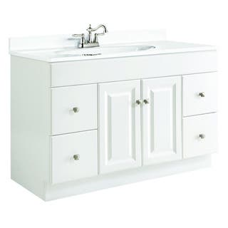 Inches Bathroom Vanities Vanity Cabinets Shop The Best - 50 inch bathroom vanity for bathroom decor ideas