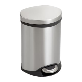 Safco Step-On 1.5-gallon Stainless Steel Medical Receptacle