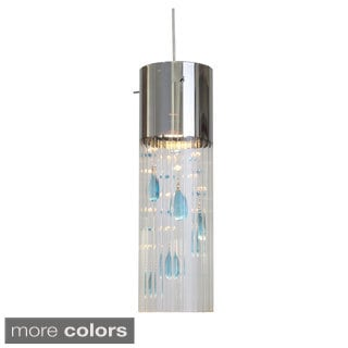Gem 1-light Chrome Mini Pendant