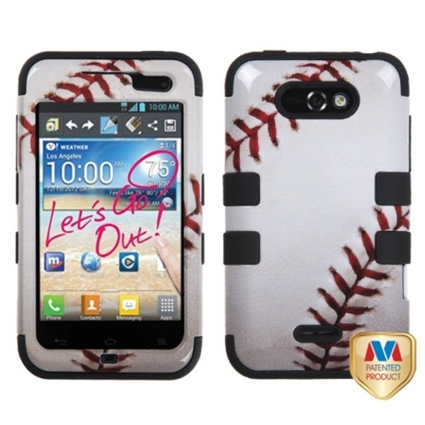 INSTEN Baseball-Sports Collection TUFF Phone Case Cover for LG Motion ...
