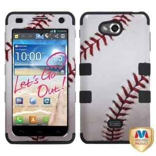 INSTEN Baseball-Sports Collection TUFF Phone Case Cover for LG MS870 Spirit 4G