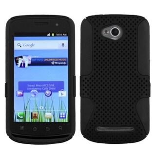 INSTEN Black/ Black Astronoot Phone Case Cover for Coolpad Quattro 4G 5860E