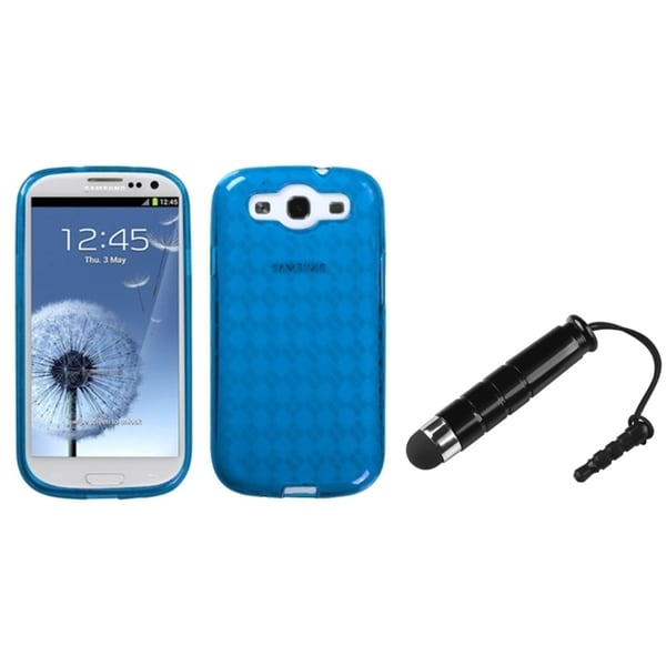 BasAcc Candy Skin Case/ Stylus for Samsung© Galaxy S III/ S3 I9300