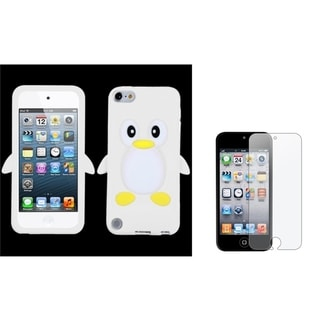 Insten Anti-glare Screen Protector/ Skin iPod Case Cover for Apple iPod Touch 5th/ 6th