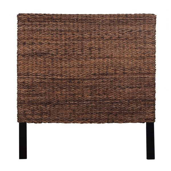meticulously woven brown abaca weave headboard  free shipping, Headboard designs