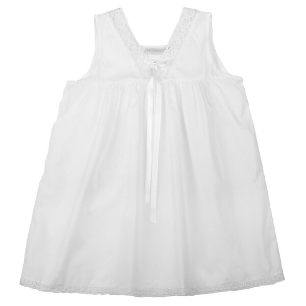 Embroidered Cotton Children's Nightgown