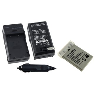 INSTEN Battery/ Charger for Nikon EN-EL5/ P500/ P100/ 7900/ 4200/ 5200