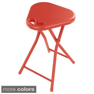 urb SPACE Atlantic Folding Stool with Handle (Set of 4)