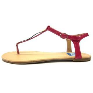 Blue Women's Apple Sandals